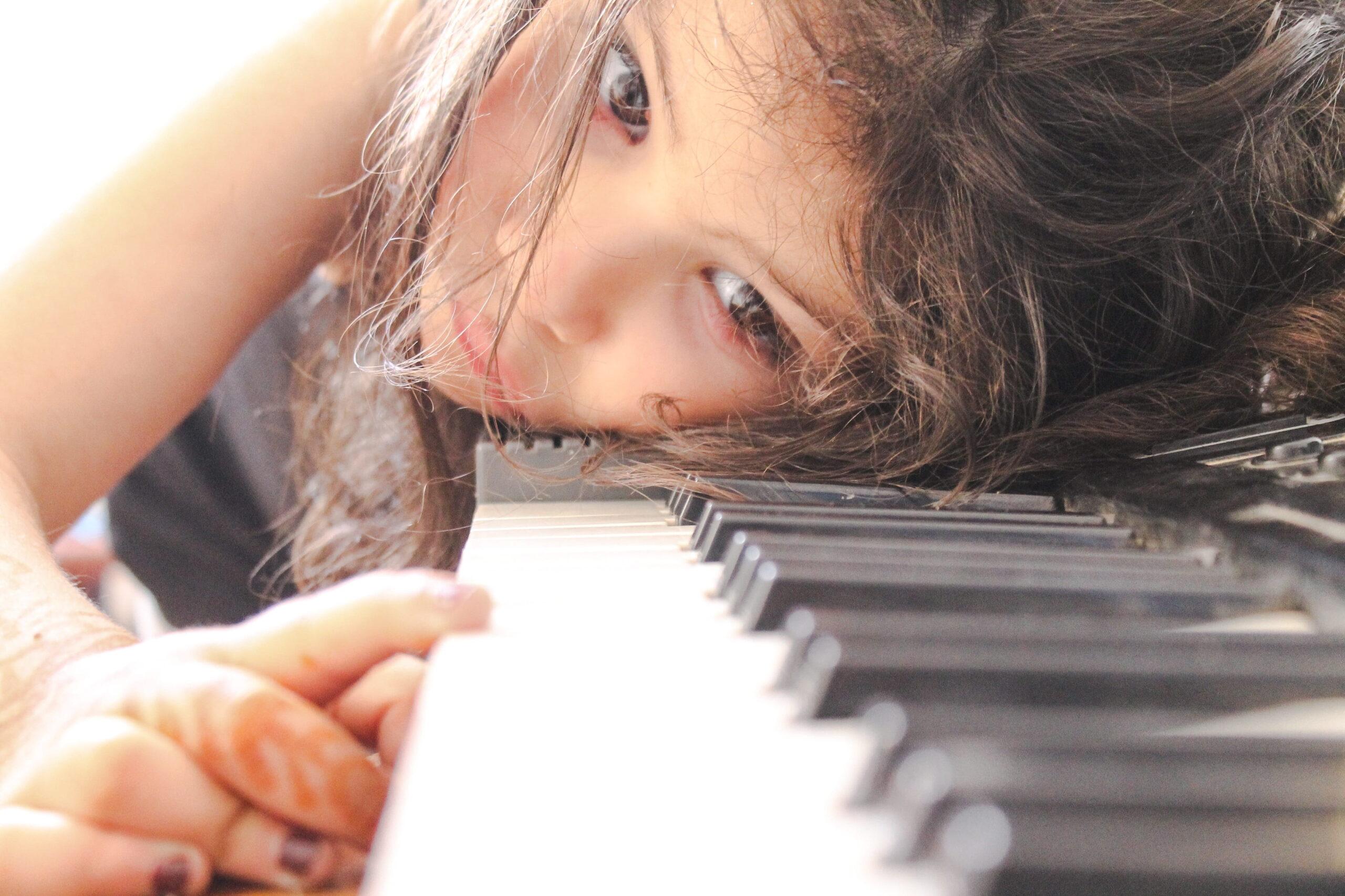 Klavier lernen als allein erziehende Mutter